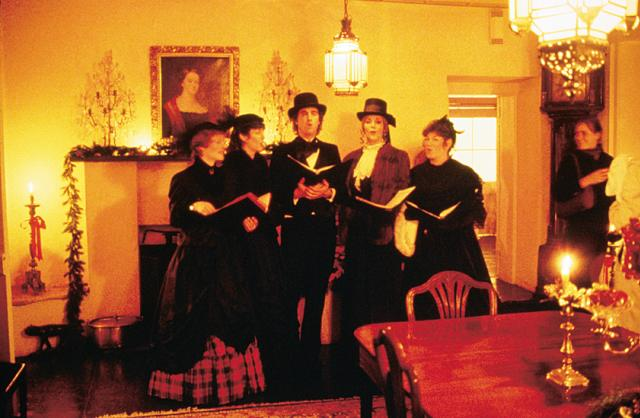 Coms_Carolers during Christmas at the Adobes