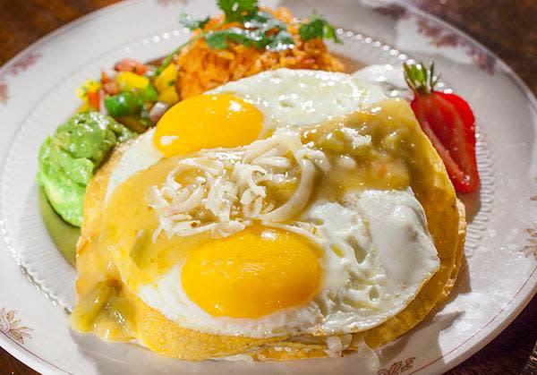 Mahogany Grille Breakfast