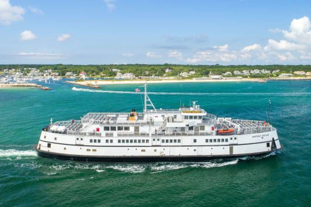M/V Martha's Vineyard in Oak Bluffs