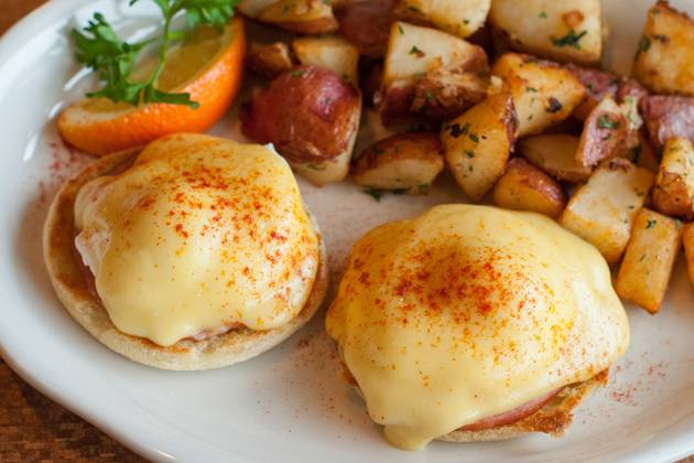 We make the best eggs benedict!