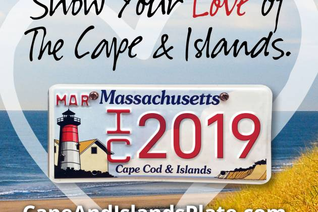 Cape and Islands License Plate