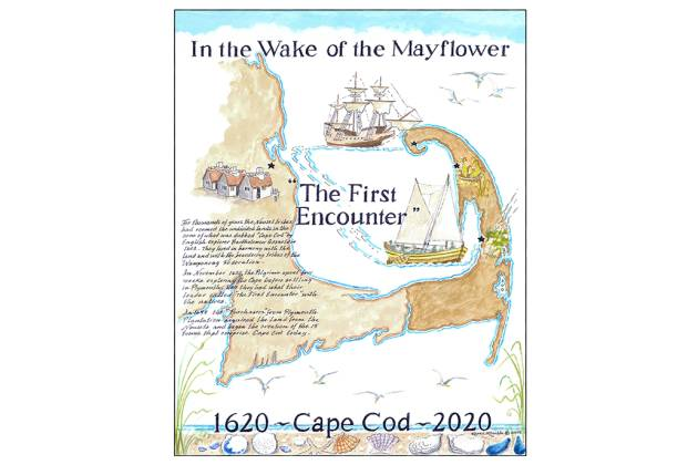 Wake of the Mayflower - Karen Rinaldo