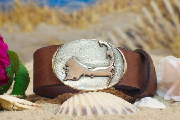 Cape Cod Leather Belt Buckle