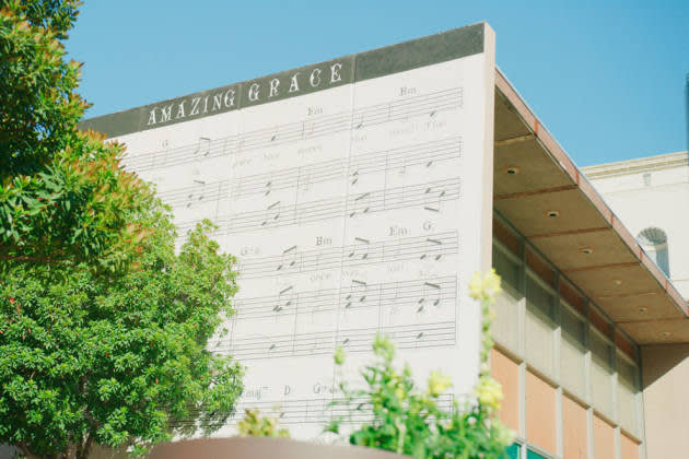 Amazing Grace Mural in Downtown Fresno