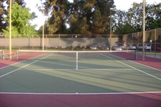 Fresno City College Tennis Courts