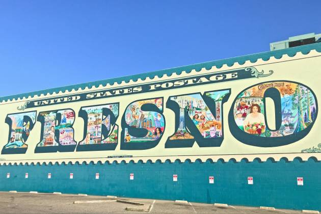 Fresno Stamp Mural