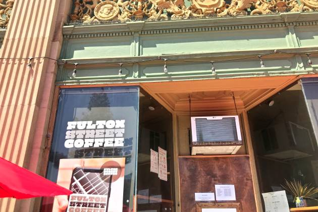 Fulton Street Coffee exterior