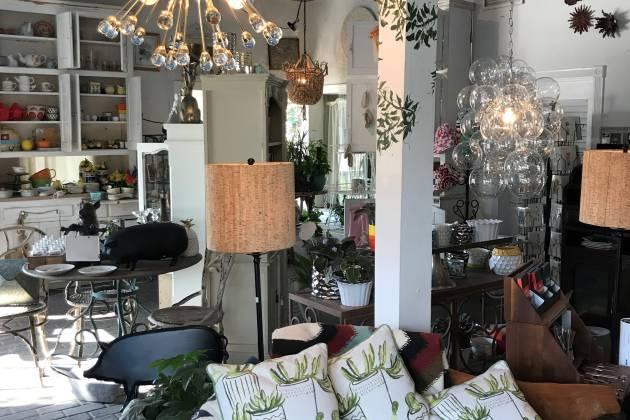 Gazebo Gardens gift shop interior
