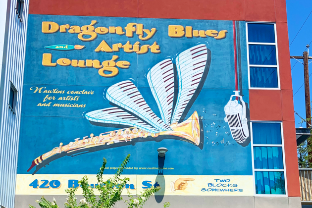 dragonfly blues artist lounge
