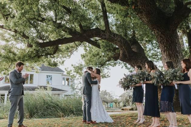 River Parkway Wedding