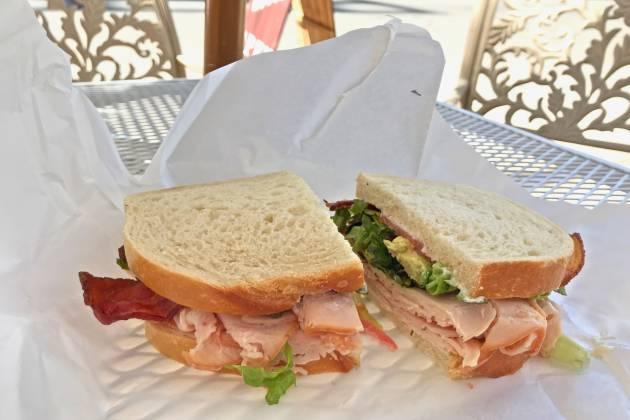 Shep's Club sandwich