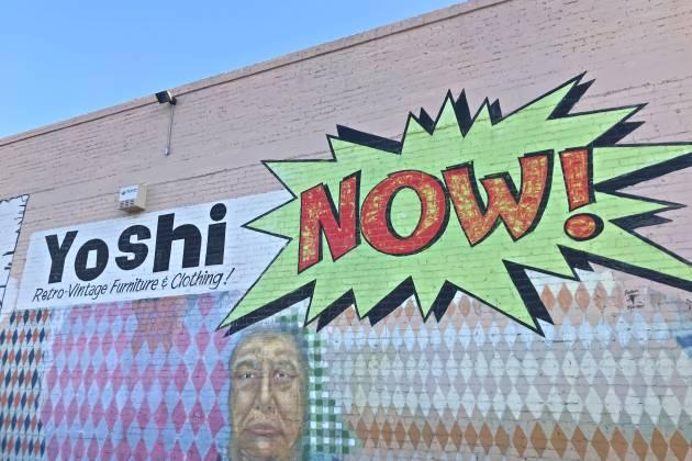 Mural of Yoshi NOW