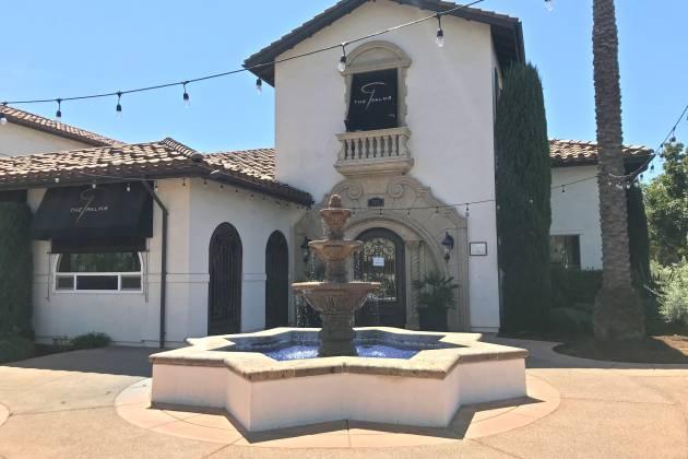 The Palms restaurant exterior