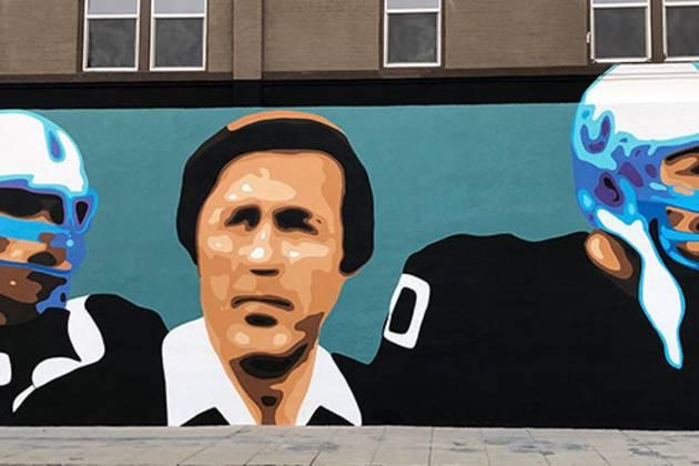 Tom Flores Mural