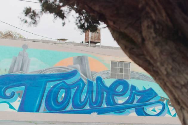 Tower Mural