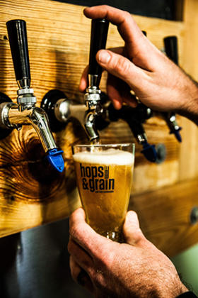 Hops &Grain Beer - Photo Credit to Thomas Winslow