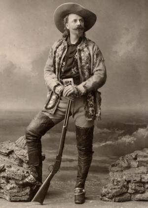 Portrait of Buffalo Bill Cody