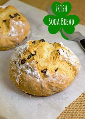 Irish Soda Bread Recipe Graphic