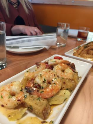 Garlic Prawns at WildFin American Grill