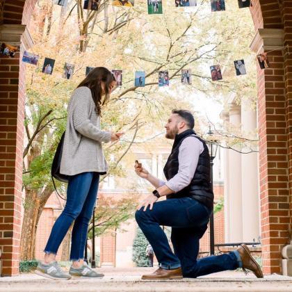 Davidson College Engagement