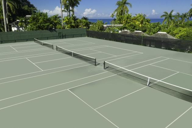 Har-Tru-Tennis-Court