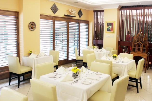 Alexanders Restaurant at The Courtleigh, Kingston