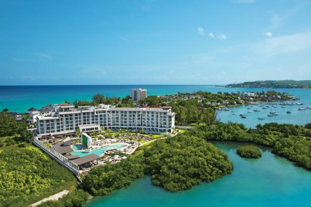 Breathless Montego Bay Aerial View