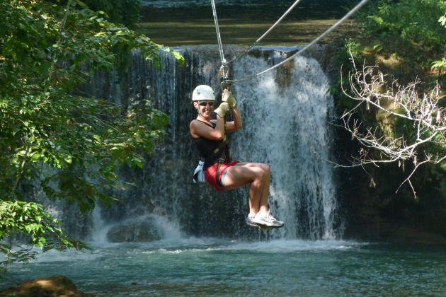 Chukka's Zipline over YS Falls