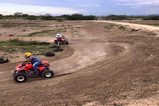 Exciting ATV Session