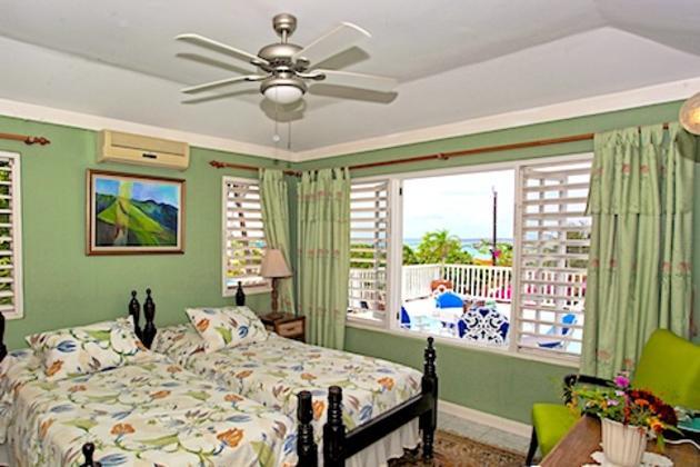 Bedrooms at Salt Ash Villa at Silver Sands