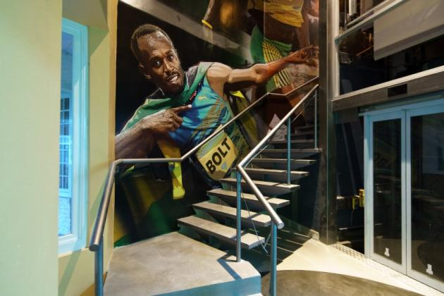 Usain Bolt Tracks & Records Montego Bay