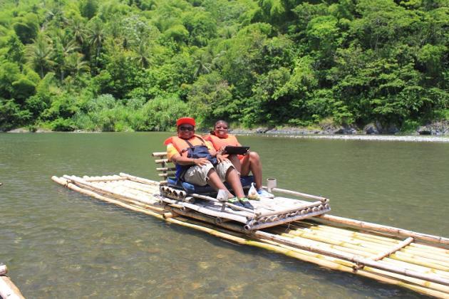 Rafting on the Rio Grande