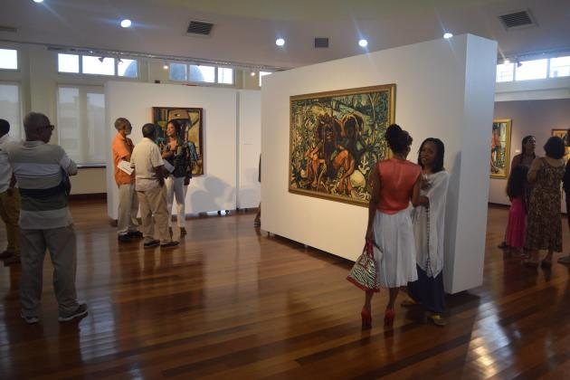 Visitors are welcomed at the Montego Bay Cultural Centre