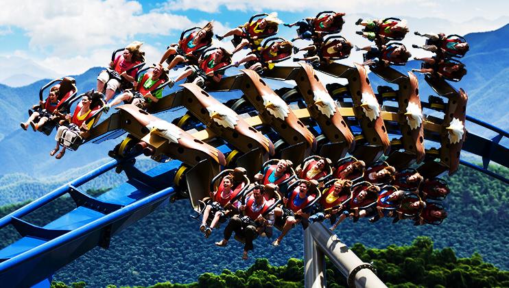 dollywood coaster