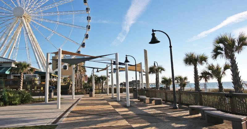 Boardwalk & Promenade with SkyWheel