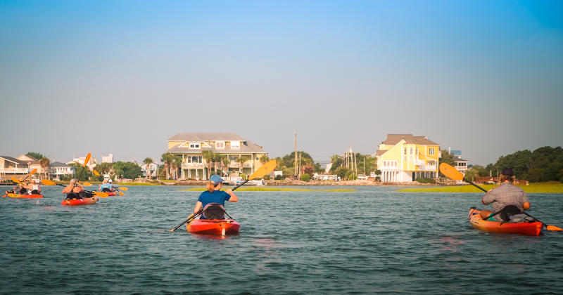 Kayaking on the Intracoastal Waterway