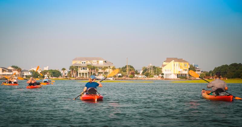 Kayaking on the Intracoastal Waterway