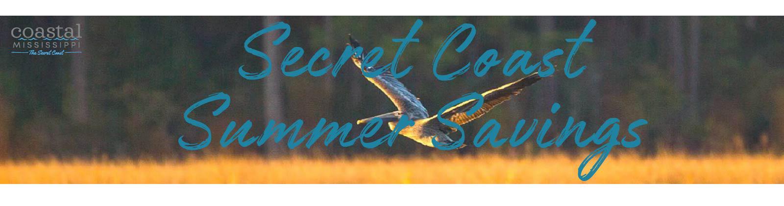 Secret Coast Summer Savings