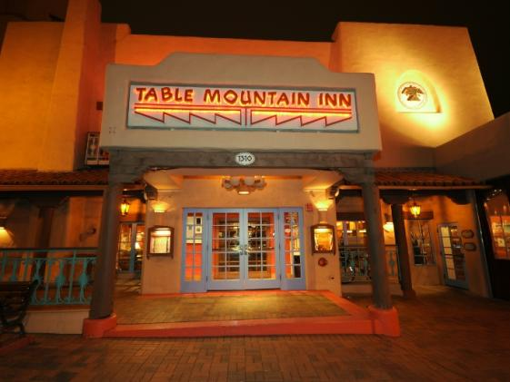 Outdoor view of Table Mountain Inn