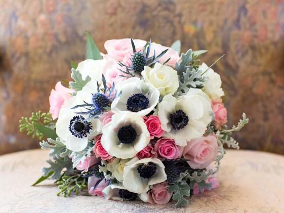 Anemone floral bouquet