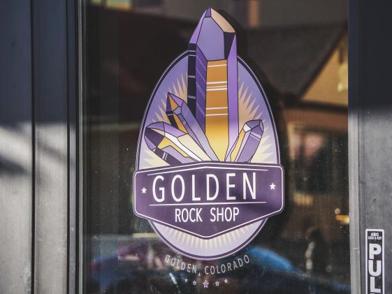 Golden Rock Shop logo