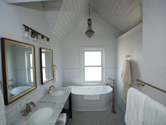 Modern Soaking Tub