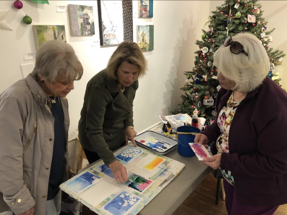 Artist Demo with Janet Nunn