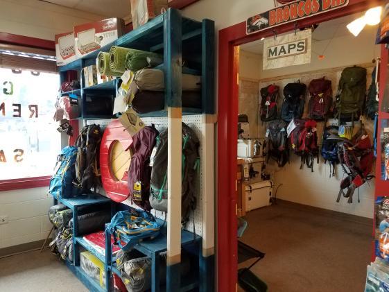 Store interior maps