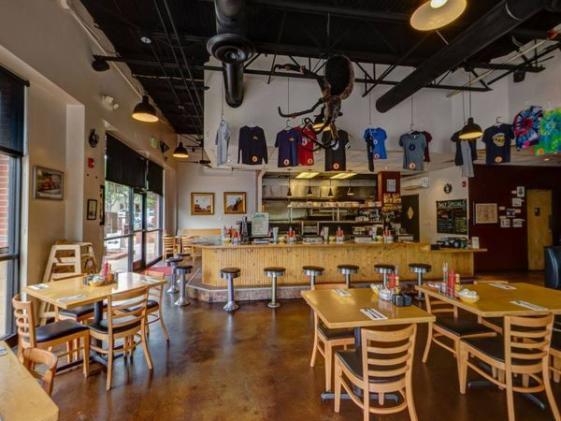 The Golden Diner Interior