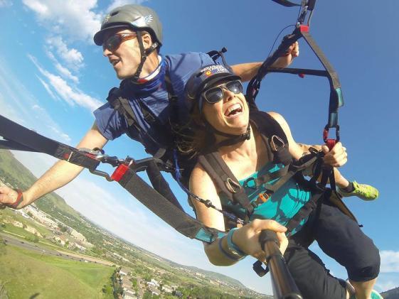 Golden paraglide
