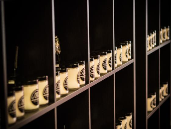 The Candle Wall