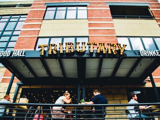 tributary food hall