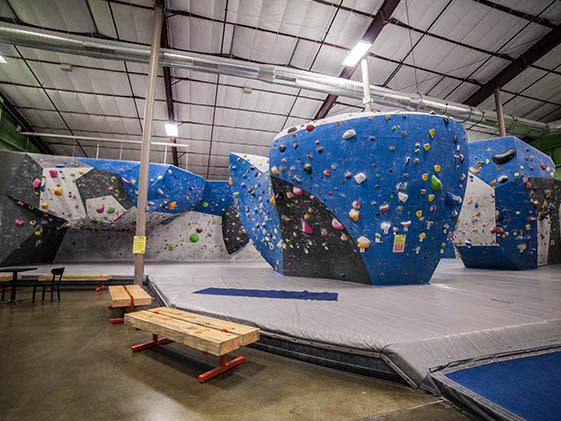 Earth Treks gym view