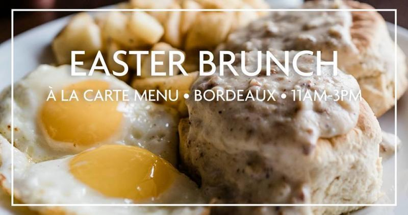 Bordeaux Easter Brunch